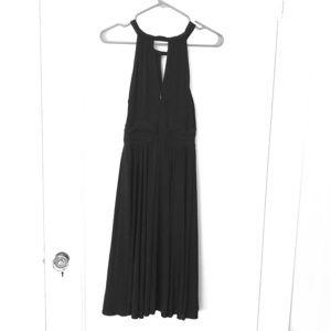 Black Knit Elegant Dress